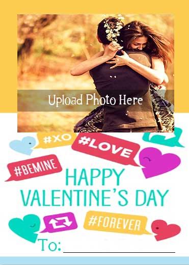 Be-Mine-Valentine-Name-Photo-Card