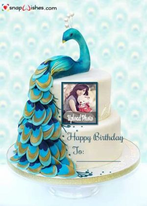 Beautiful-Peacock-Birthday-Snap-Wish-Cake