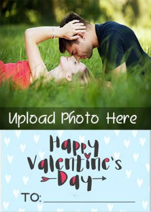 Best-Valentines-Name-Photo-Card