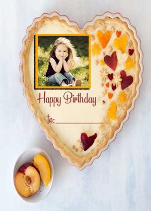 Birthday-Cake-with-Photo-Frame