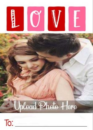 Colorful-Love-Name-Photo-Card