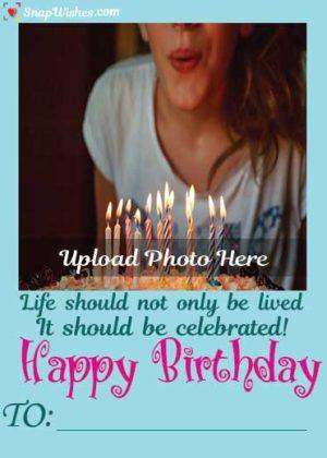 Cute-Girl-Birthday-Snap-Wish-Card
