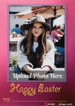 Cute-Girl-Easter-Wish-Snap-Card