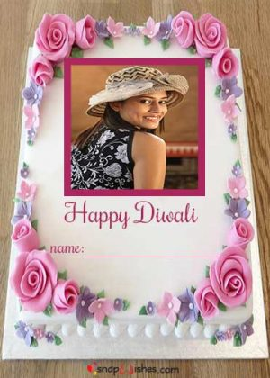 Happy-Diwali-Cake-with-Frame