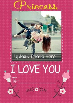 Princess-Love-Photo-Card