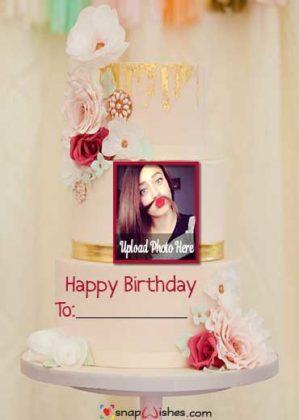 Romantic-Birthday-Flower-Snap-Wish-Cake