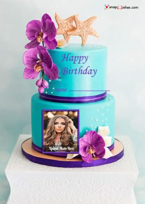 beach-birthday-cake-design-with-name-and-photo