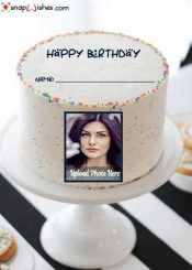 birthday-cake-with-photo-frame-for-lover