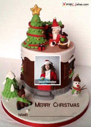 cute-santa-christmas-wish-cake-with-name-and-photo-maker
