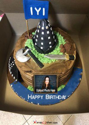 ertugrul-birthday-cake-with-name-and-photo