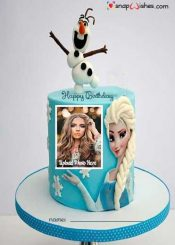 frozen-birthday-cake-with-name-and-photo