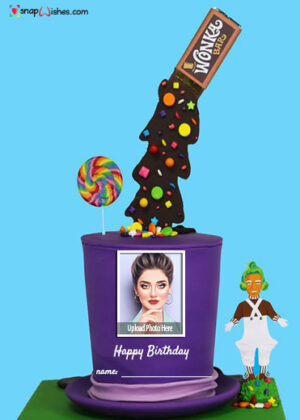 gravity-birthday-cake-idea-with-name-and-photo-edit
