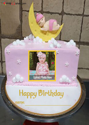 half-year-birthday-cake-with-name-and-photo-editor-online-free