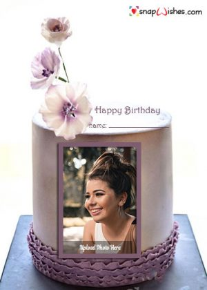 lover-birthday-cake-with-photo-frame