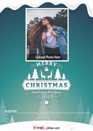 magical-christmas-photo-card-with-name