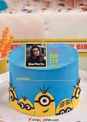 minions-birthday-cake-with-name-and-photo