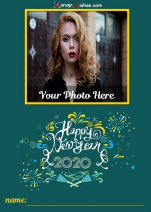 new-year-photo-frame-online-editing