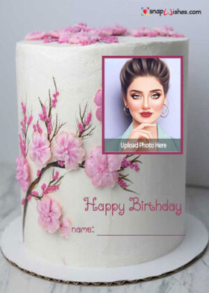 pink-flowers-birthday-photo-cake-with-name-maker