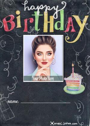 rainbow-cake-birthday-photo-card-with-name