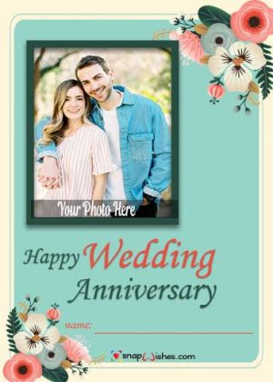 wedding-anniversary-card-with-name-and-photo